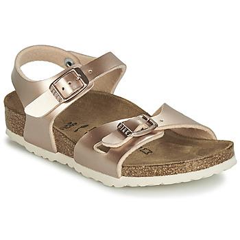 Pantofi Fete Sandale  Birkenstock RIO Gold