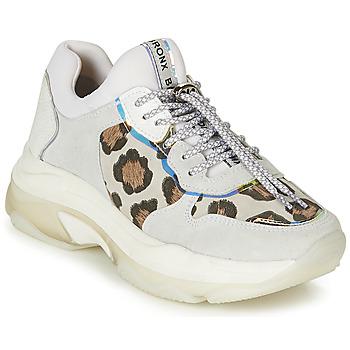 Încăltăminte Femei Pantofi sport Casual Bronx BAISLEY Alb / Leopard