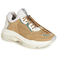 Pantofi Femei Pantofi sport Casual Bronx BAISLEY Alb / Maro