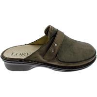 Pantofi Femei Saboti Calzaturificio Loren LOM2741ta tortora