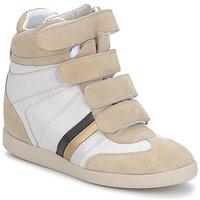 Încăltăminte Femei Pantofi sport Casual Serafini MANATHAN SCRATCH  white-beige-blue