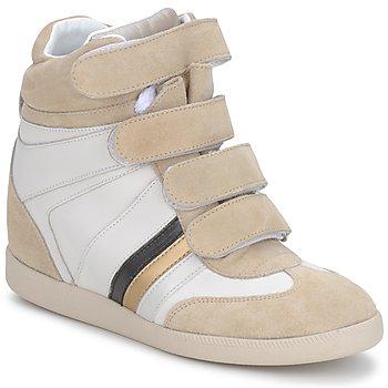 Pantofi Femei Pantofi sport Casual Serafini MANATHAN SCRATCH  white-beige-blue