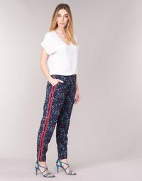 Îmbracaminte Femei Pantaloni fluizi și Pantaloni harem Kaporal BABY Bleumarin /  multicolor