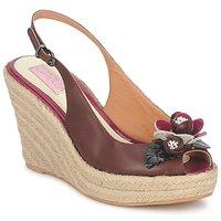 Pantofi Femei Sandale  C.Petula GLORIA Maro / Fuchsia