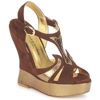 Pantofi Femei Sandale și Sandale cu talpă  joasă Terry de Havilland FARAH Ciocolatiu