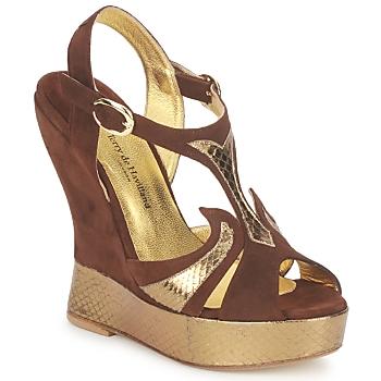 Pantofi Femei Sandale  Terry de Havilland FARAH Ciocolatiu