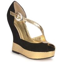 Pantofi Femei Sandale și Sandale cu talpă  joasă Terry de Havilland PENNY Black-gold