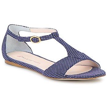 Pantofi Femei Sandale și Sandale cu talpă  joasă Paul & Joe Sister PERRY Bleumarin / Alb