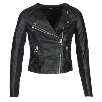 Îmbracaminte Femei Jachete din piele și material sintetic Vero Moda VMRIA FAV Negru