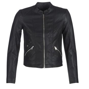 Îmbracaminte Femei Jachete din piele și material sintetic Vero Moda VMKHLOE Negru