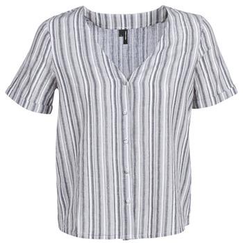 Îmbracaminte Femei Topuri și Bluze Vero Moda VMESTHER Bleumarin / Alb