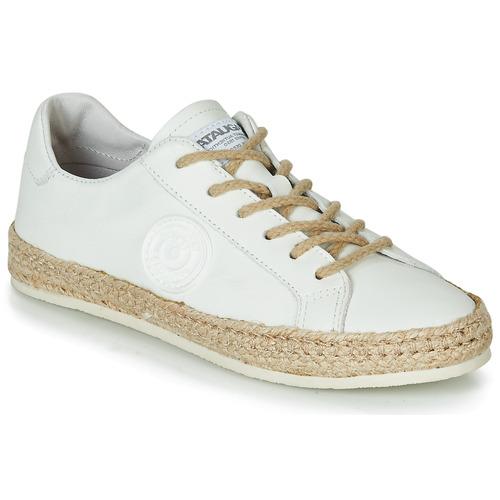 Pantofi Femei Espadrile Pataugas PAM /N Alb