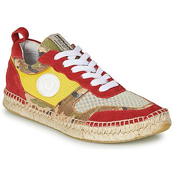 Pantofi Femei Pantofi sport Casual Pataugas MARCIA Galben / Roșu