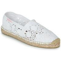 Pantofi Femei Espadrile Banana Moon NIWI Alb