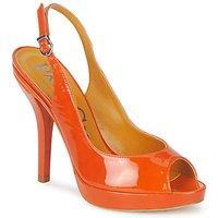Pantofi Femei Sandale și Sandale cu talpă  joasă Paco Gil STAR FIZO Portocaliu