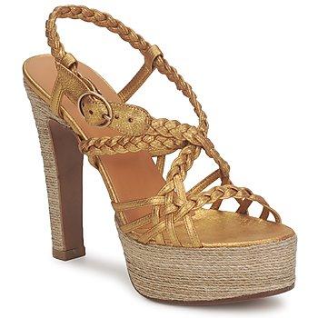 Pantofi Femei Sandale  Michel Perry 12716  dor
