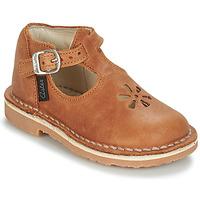 Pantofi Copii Balerin și Balerini cu curea Aster BIMBO Coniac