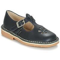 Pantofi Copii Balerin și Balerini cu curea Aster DINGO Albastru