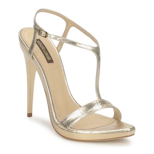 Pantofi Femei Sandale  Roberto Cavalli RDS736 Gold