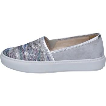 Pantofi Femei Pantofi Slip on Janet Sport Aluneca Pe BT420 Gri