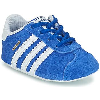 Încăltăminte Copii Pantofi sport Casual adidas Originals GAZELLE CRIB Albastru