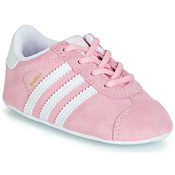 Pantofi Copii Pantofi sport Casual adidas Originals GAZELLE CRIB Roz