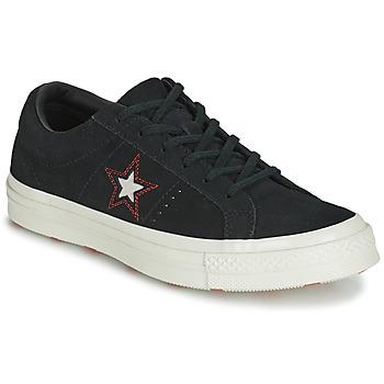 Încăltăminte Femei Pantofi sport Casual Converse ONE STAR LOVE IN THE DETAILS SUEDE OX Negru