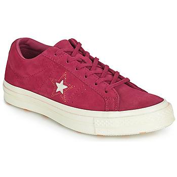Încăltăminte Femei Pantofi sport Casual Converse ONE STAR LOVE IN THE DETAILS SUEDE OX Fushia