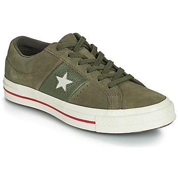 Pantofi Femei Pantofi sport Casual Converse ONE STAR CUIR FASHION BALLER SUEDE OX Kaki
