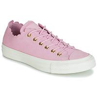Încăltăminte Femei Pantofi sport Casual Converse CHUCK TAYLOR ALL STAR FRILLY THRILLS SUEDE OX Roz