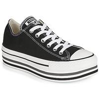 Încăltăminte Femei Pantofi sport Casual Converse CHUCK TAYLOR ALL STAR PLATFORM EVA LAYER CANVAS OX Negru
