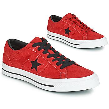 Pantofi Bărbați Pantofi sport Casual Converse ONE STAR DARK STAR VINTAGE SUEDE OX Roșu