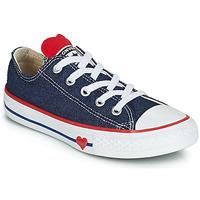 Încăltăminte Fete Pantofi sport Casual Converse CHUCK TAYLOR ALL STAR SUCKER FOR LOVE DENIM OX Albastru