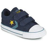 Pantofi Băieți Pantofi sport Casual Converse STAR PLAYER 2V CANVAS OX Albastru