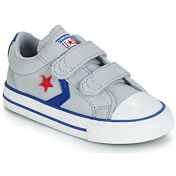 Încăltăminte Copii Pantofi sport Casual Converse STAR PLAYER 2V CANVAS OX Gri