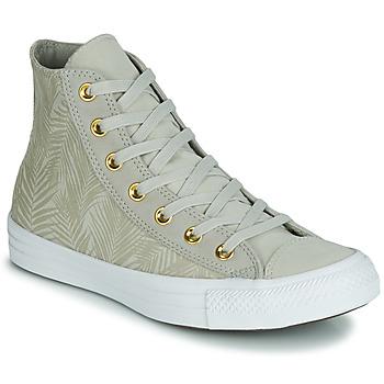 Încăltăminte Femei Pantofi sport stil gheata Converse CHUCK TAYLOR ALL STAR SUMMER PALMS HI Verde