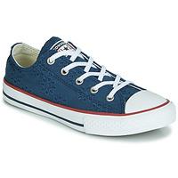 Pantofi Fete Pantofi sport Casual Converse CHUCK TAYLOR ALL STAR BROADERIE ANGLIAS OX Bleumarin