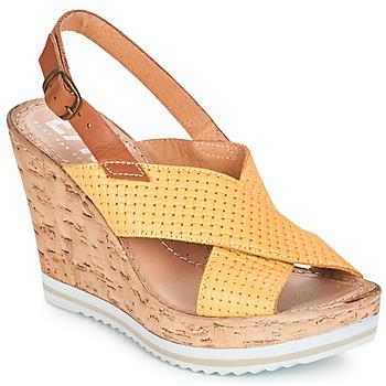 Pantofi Femei Sandale  Elue par nous EMPIRE Galben