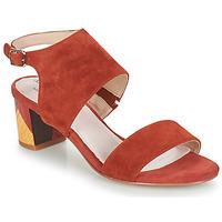 Pantofi Femei Sandale  Metamorf'Ose EMBARQUA Roșu