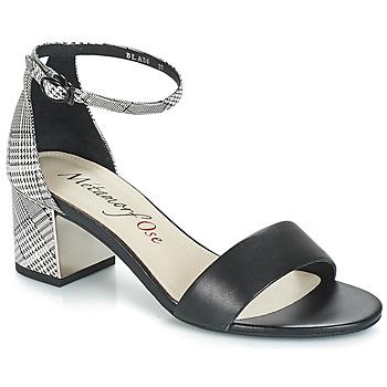 Pantofi Femei Sandale  Metamorf'Ose EMBRASA Negru