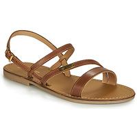 Pantofi Femei Sandale și Sandale cu talpă  joasă Les Tropéziennes par M Belarbi BADEN Tan