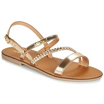 Pantofi Femei Sandale și Sandale cu talpă  joasă Les Tropéziennes par M Belarbi BATRESSE Auriu