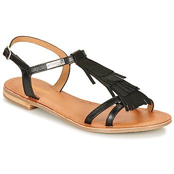 Pantofi Femei Sandale și Sandale cu talpă  joasă Les Tropéziennes par M Belarbi BELIE Negru