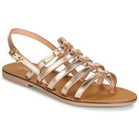 Pantofi Femei Sandale și Sandale cu talpă  joasă Les Tropéziennes par M Belarbi HERILO Auriu