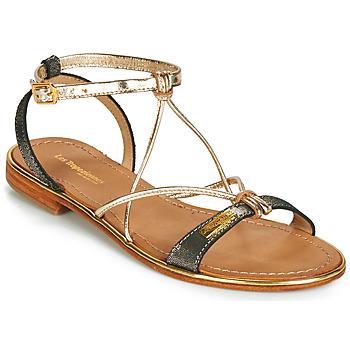 Pantofi Femei Sandale și Sandale cu talpă  joasă Les Tropéziennes par M Belarbi HIRONDEL Negru / Iris