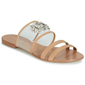 Pantofi Femei Papuci de vară KG by Kurt Geiger PIA VINYL SANDAL Camel