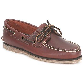 Pantofi Bărbați Pantofi barcă Timberland CLASSIC 2 EYE Maro