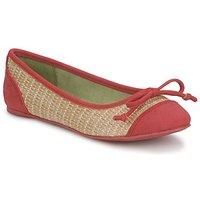 Pantofi Femei Balerin și Balerini cu curea Blowfish Malibu NITA Roșu