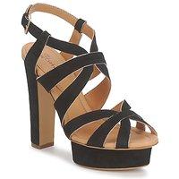 Pantofi Femei Sandale și Sandale cu talpă  joasă Eva Turner LIVIA Negru
