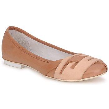 Pantofi Femei Balerin și Balerini cu curea Marithé & Francois Girbaud BOOM Coniac